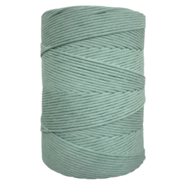 Hearts single twist 4,5 mm sage green (500m)