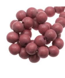 Houten kraal rouge 12 mm