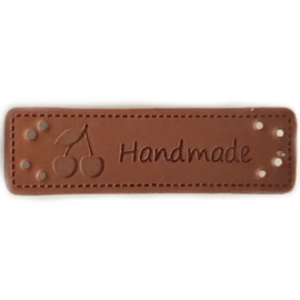 Label Handmade kersje