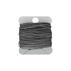 Macramé koord 0.8 mm grey