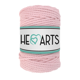 Hearts triple twist 5 mm baby pink (100 meter)