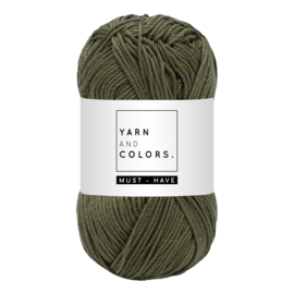 Yarn and color must-have olive