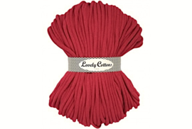 Lovely Cottons 9 mm gevlochten red