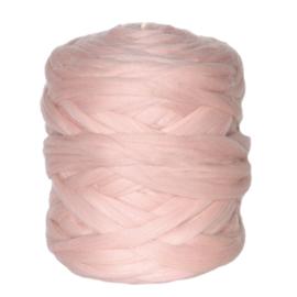 XXL lontwol poeder roze