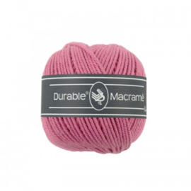 Durable Macrame 2 mm raspberry