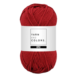 Yarn and colors epic burgundy