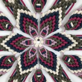 Mandala brazilian (70 cm) (TIJDELIJK UITVERKOCHT)