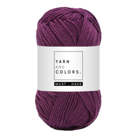 Yarn and color must-have grape