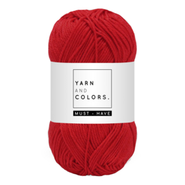 Yarn and color must-have cardinal