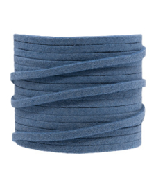 Faux suede blue epic 3 mm