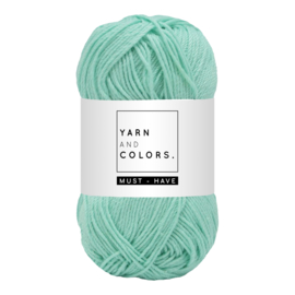 Yarn and color must-have green ice