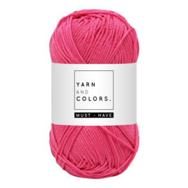 Yarn and color must-have girly pink