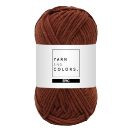 Yarn and colors epic brownie