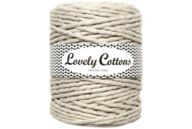 Lovely Cottons single twist 5 mm raw