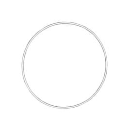 Macramé ring wit 10 cm