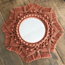Mandala spiegel (20 cm spiegel)