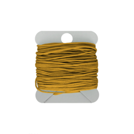 Macramé koord 0.8 mm oker yellow