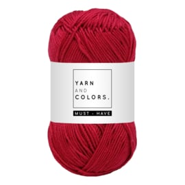 Yarn and color must-have raspberry