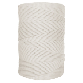 Hearts single twist 4,5 mm naturel (500m)