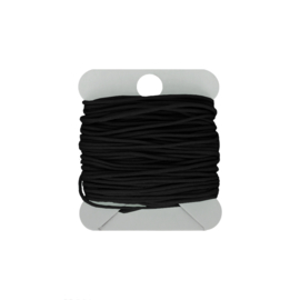 Macramé koord 0.8 mm black