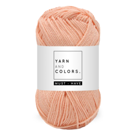 Yarn and color must-have peach