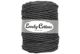 Lovely Cottons single twist 5 mm darkgrey