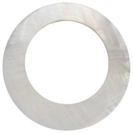Hanger rond schelp 58 mm