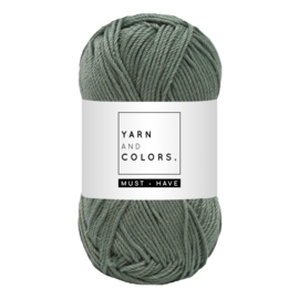 Yarn and color must-have pea green