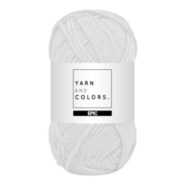 Yarn and colors epic white