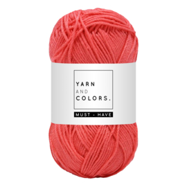 Yarn and color must-have pink sand