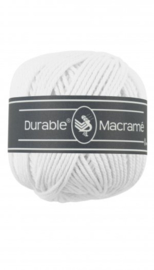 Durable Macrame 2 mm white