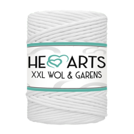 Hearts single twist 4.5 mm white (200m)