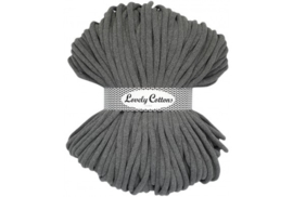 Lovely Cottons 9 mm gevlochten darkgrey