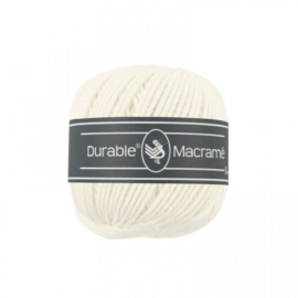 Durable Macrame 2 mm ivory