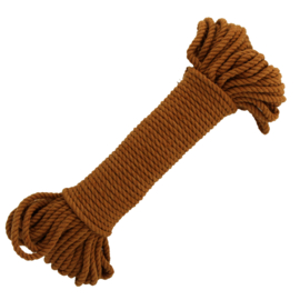 Macramé katoen copper 5 mm