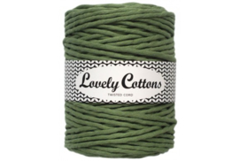 Lovely Cottons single twist 5 mm sagegreen