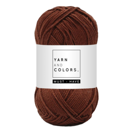 Yarn and color must-have chestnut