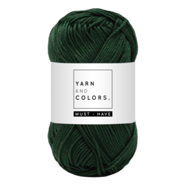 Yarn and color must-have forest