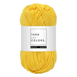 Yarn and color must-have sunglow