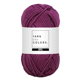 Yarn and colors epic grape