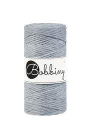 Bobbiny silver 3 mm