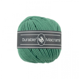 Durable Macrame 2 mm dark mint