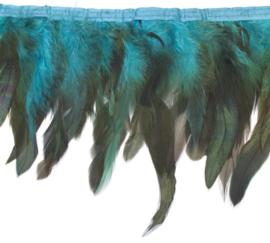 Verenband turquoise (per 25 cm)