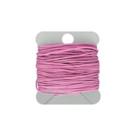Macramé koord 0.8 mm pink