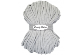 Lovely Cottons 9 mm gevlochten lightgrey