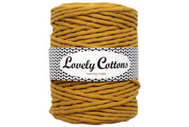 Lovely Cottons single twist 5 mm mustard