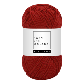 Yarn and color must-have redwine