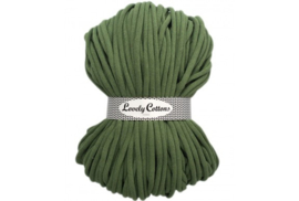 Lovely Cottons 9 mm gevlochten sagegreen