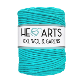 Hearts single twist 4.5 mm turquoise (200m)