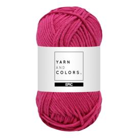 Yarn and colors epic fuchsia